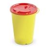 Kanülenabwurfbehälter Dispo 0,7 l