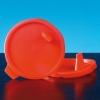 Deckel rot für Urinbecher (500 Stück)