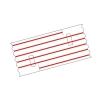Mediloops mini rot 1,5 x 1,0 mm (2 x 10 Stück) (Gefäß-Schlingen)
