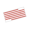 Mediloops maxi rot 2,5 x 1,2 mm (2 x 10 Stück) (Gefäß-Schlingen)