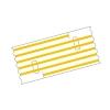 Mediloops maxi gelb 2,5 x 1,2 mm (2 x 10 Stück) (Gefäß-Schlingen)
