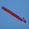 Schlauchhalter OP-Fix rot mit Clip, 9,5 x 20 mm (25 Stück)