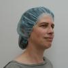 Schwesternhauben einfach, blau, latexfrei, Vivomed (100 Stück)