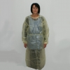Splash Coat, teilbeschichtet, hellgelb, 130 cm lang (10 Stück)