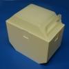 Zellstoff-Tupferbox ohne Inhalt