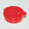 Deckel für Schnabelbecher 12 mm rot (5 Stück)