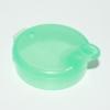 Deckel für Schnabelbecher 12 mm grün (5 Stück)