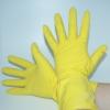 Haushalthandschuhe gelb mittel 1 Paar (12 Stück)