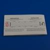 Einlegeblatt für Notfall-Kapseln (1 Stück)