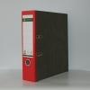 Ordner Leitz Pappe breite Ausführung, rot
