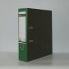 Ordner Leitz Pappe breite Ausführung, grün