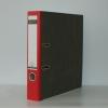 Ordner Leitz Pappe schmale Ausführung, rot