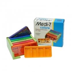 Medi-7 Medikamentendosierer, farbig