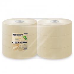 Toilettenpapier EcoNatural Jumbo, 2-lagig, 350 m (6 Rollen)
