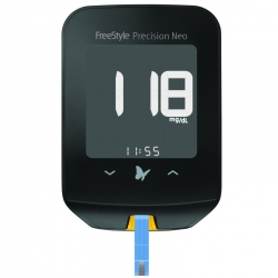 Blutzuckermessgerät Freestyle Precision Neo mg/dl (1 Set)