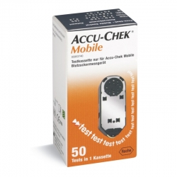 Blutzuckerteststreifen Accu-Chek Mobile (1 Kassette á 50 Tests)