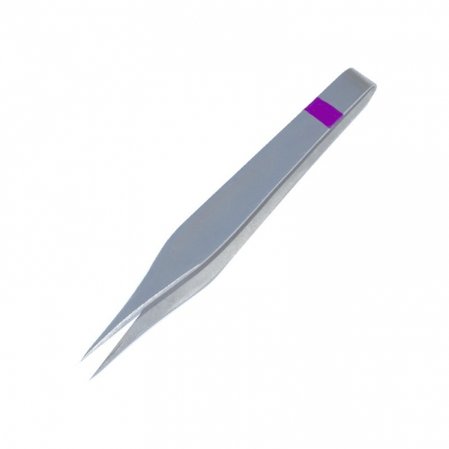 Splitterpinzette 11 cm, mit Markierungsband, einzeln steril verpackt