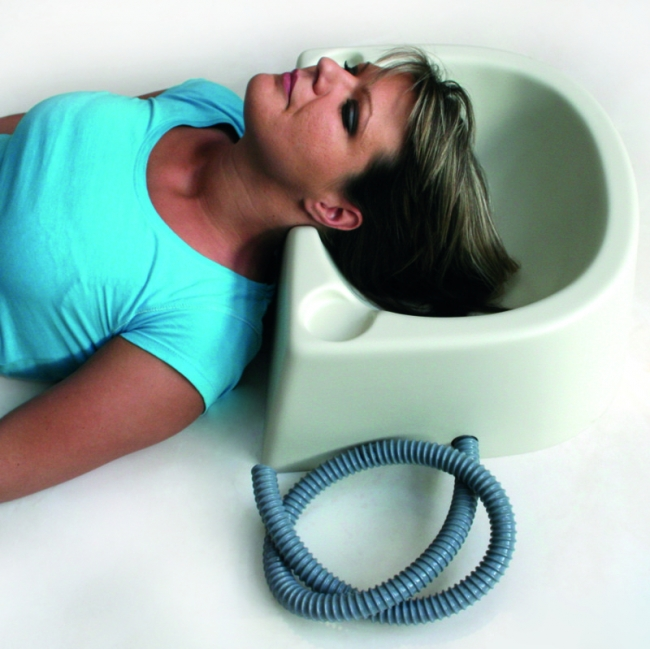 Haarwaschwanne stabiles Modell für den mobilen Einsatz