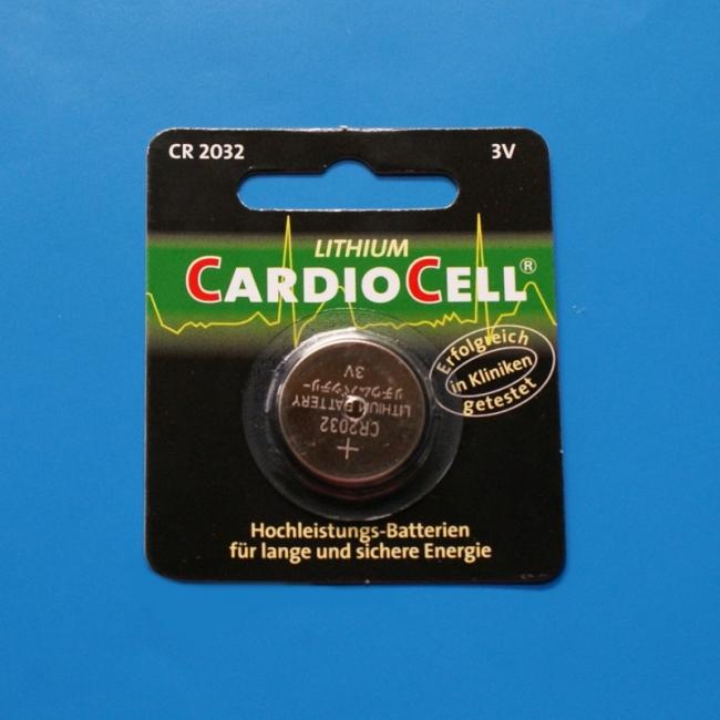 Knopfzelle CR 2032/Ah 210 (1 Stück)